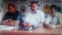 Bursa KESK Şubeler Platformu, BES üyelerinin açığa alınmasını protesto etti