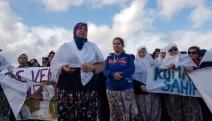 Çanakkale Kumarlar köyünde kadınlardan protesto: Madene verecek suyumuz yok