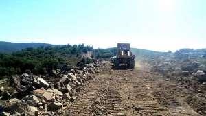 Çeşme Germiyan'da kurulacak RES ıçin başlayan çevre katliamına karşı mücadele büyüyor