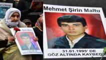 Cumartesi Anneleri: 17 yaşındaki alıp götürülen  Mehmet Şirin Maltu nerede?