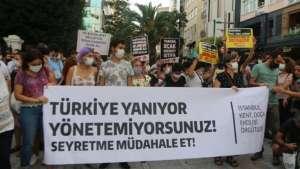 Ekolojistlerden iktidara: Türkiye yanıyor, yönetemiyorsunuz