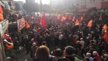 Emek Partisi MYK Üyesi Metin İlgün uğurlanıyor