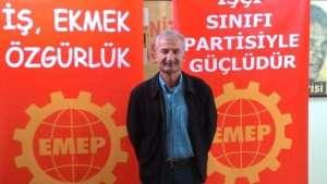 EMEP il yöneticisi gözaltına alındı
