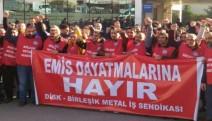 EMİS'e bağlı metal fabrikalarında grev kararı asıldı