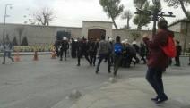 Ensar'ı protesto etmek isteyen ÖDP üyelerine  gözaltı