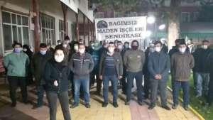 Ermenekli madenciler Ankara'ya yürüyüş başlatıyor