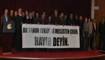 Eskişehir'de 40 kurum yeni anayasa teklifine karşı bir araya geldi