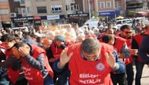 Eskişehir'de Entil, Hapalki ve Tarkon işçilerine polis müdahalesi!