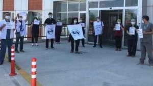 Eskişehir'de sağlık emekçileri: Bıçak kemiğe dayandı