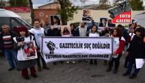 Gazeteciler hapishane önünde: Arkadaşlarımızı serbest bırakın