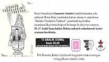 Gözaltında kayıpların öyküsü: 'Küskün Yüreklerin Türküsü' 13 Aralık'ta sahnelenecek