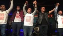 Haluk Levent'ten direnişteki Makro Market işçilerine destek: Konser gelirinin hepsi işçilere verildi