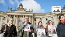 Hapis cezası alan Prof. Dr. Füsun Üstel için Berlin'de basın açıklaması