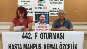 Hasta tutuklu Özçelik ölümle burun buruna