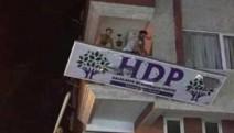 HDP binalarına saldırı