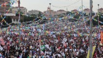 HDP'nin İstanbul mitinginde yüz binler alandaydı: Hak, hukuk, adalet HDP ile gelecek!