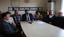 İHD Ankara Şubesi: Herkesi Açlık Grevlerine ses vermeye çağırıyoruz-VİDEO
