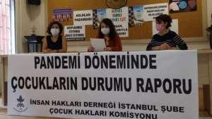 İHD'den 'Pandemide Çocukların Durumu Raporu'