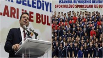 """İmamoğlu: """"Sporu, İstanbul şehrinin bir parçası yapacağız"""""""