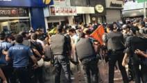 İsmail Devrim için yapılan eyleme polis müdahalesi: 15 gözaltı