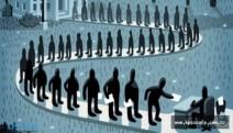İşsizlikte  bir yılda 420 bin artış