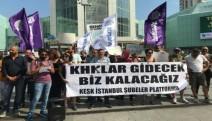 İstanbul Şubeler Platformu'undan sendikacıların gözaltına alınmasına tepki
