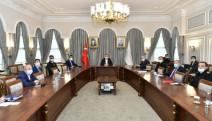 İstanbul Valiliği'nde koronavirüs toplantısı