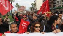 İzmir'de Genel-İş'ten 15-16 Haziran'ın yıl dönümünde iş bırakma eylemi