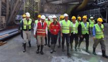 İzmir-Narlıdere Metrosu'ndaki çalışmalar ara vermeden devam ediyor