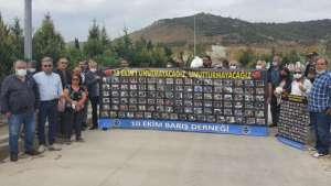 İzmir'de 10 Ekim'de katledilenler anıldı