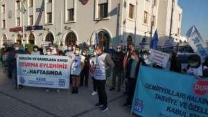 İzmir'de BTS ve SES: Sürgün ve baskılar hukuk dışıdır