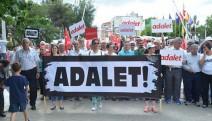 İzmir'den başlayan Adalet Yürüyüşü sürüyor