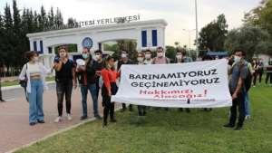 İzmir'li öğrenciler: Bunların yurdu var diyenler, bizleri yurtsuz bırakanlardır