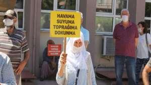 JES'e direnen köylülere ceza üstüne ceza geliyor!