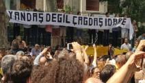 """Kabataş öğrencileri protestoya devam ediyor: """"Yandaş değil, çağdaş idare"""""""