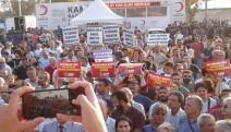 Kadıköy'de kayyım protestosu...
