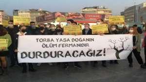 Kadıköy'den seslendiler: Torba Yasa doğa ve yaşam alanlarını yok edecek