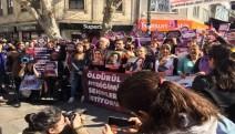 Kadınlar Kalkedon'dan cinayet, taciz ve işsizliğe karşı  mücadele çağrısı yaptı
