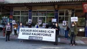 Kadınlar Kocabaş'ın öldürüldüğü yerde: Sessiz kalmıyoruz