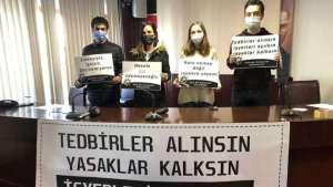 Kafe Bar çalışanları: 10 milyon insan açlığa mahkum edilmiş durumda