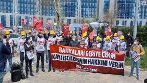 Kayı İnşaat işçileri: Haklarımızın peşinde olacağız I Haklarımızı alana kadar direniş sürecek