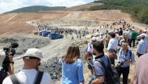 Kaz Dağları'ndaki altıncı şirket Alamosgold'un ruhsatı yenilenmedi, şirket ınşaatı durdurdu.