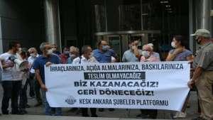 KESK Ankara Şubeler Platformu: OHAL Komisyonu suç işliyor