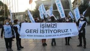 KESK İstanbul Şubeler Platformu işe iade talebini yineledi