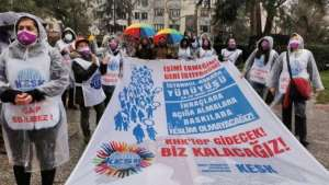 KESK'lilerin Ankara yürüyüşü üçüncü gününde I Bugün bakanlık önünde açıklama var