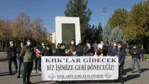 'KHK'larla kurulan düzene biat etmeyeceğiz'