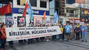 'Kıdem tazminatının gaspına karşı birleşelim, mücadele edelim'
