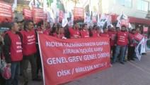 Kırşehir Cemaş Döküm işçisi meydanda açıklama yaptı