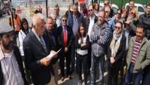 Kocaeli'de DP World D limanına protesto