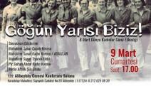 Alibeyköy'de, 8 Mart Dünya Emekçi Kadınlar Günü etkinliği: Göğün yarısı biziz!